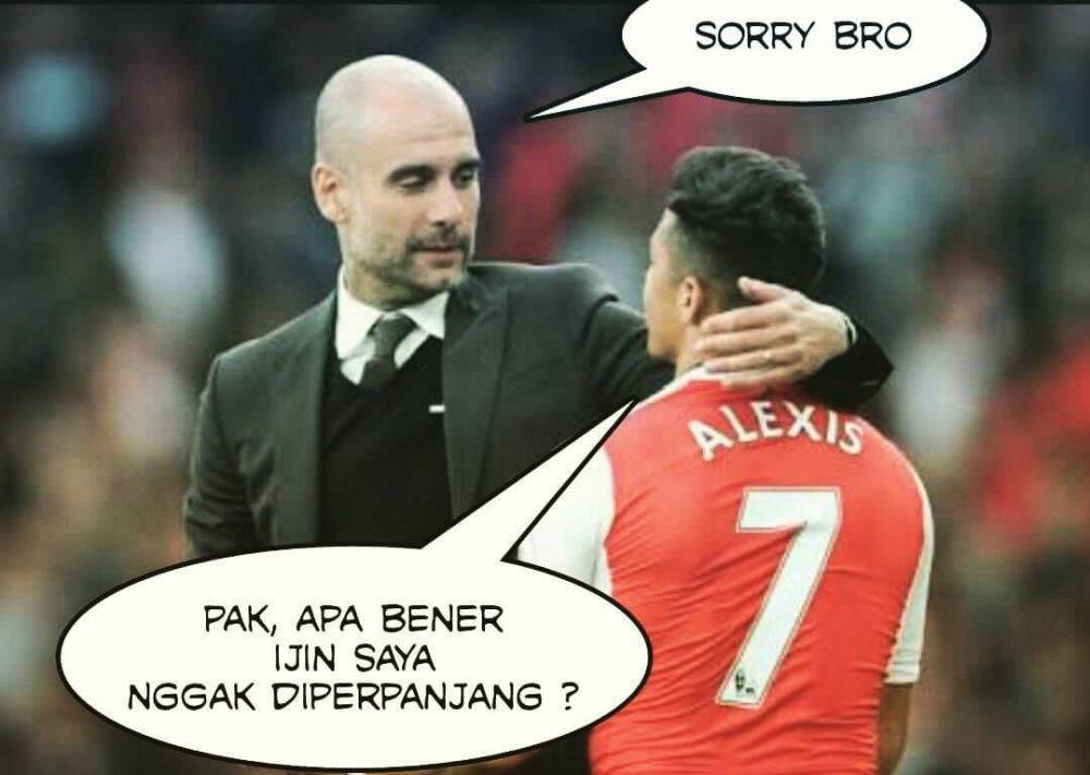 12 Meme 'Alexis ditutup' ini Konyolnya Mencairkan Suasana