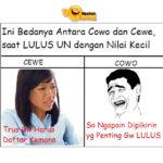 Nilai UN Cewe & Cowo