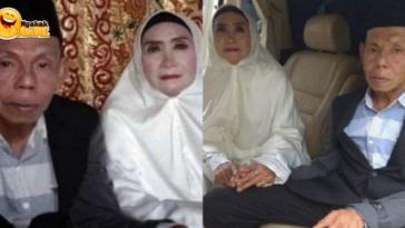 Viral, Kakek Nenek Menikah Dalam Usia 63 Tahun