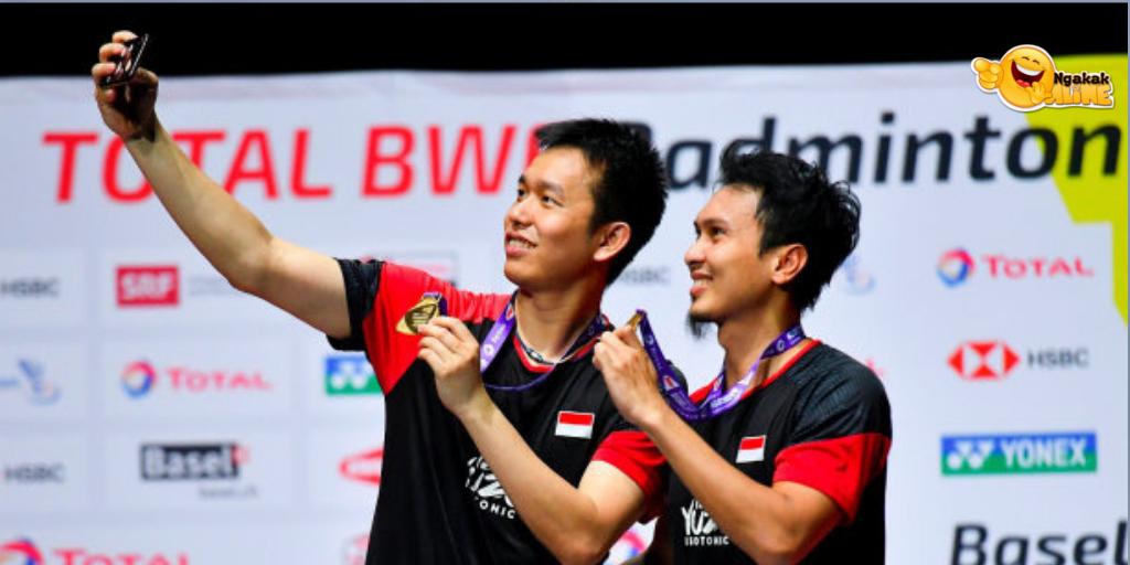 Hendra/Ahsan Juara Dunia Lagi, Istri Kompak Siapkan Kejutan di Jakarta