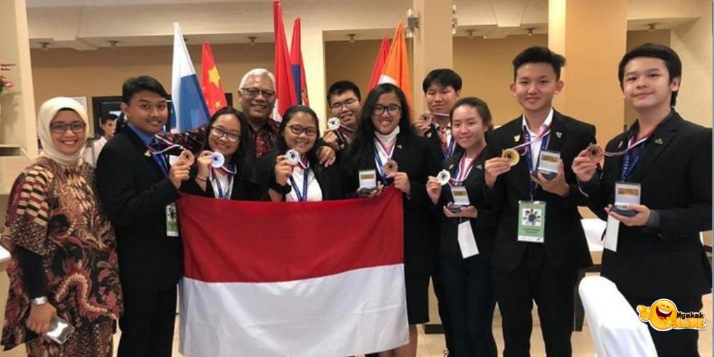Cucu Gus Dur Raih Perak, Indonesia Berprestasi di Ajang Peneliti Muda Dunia