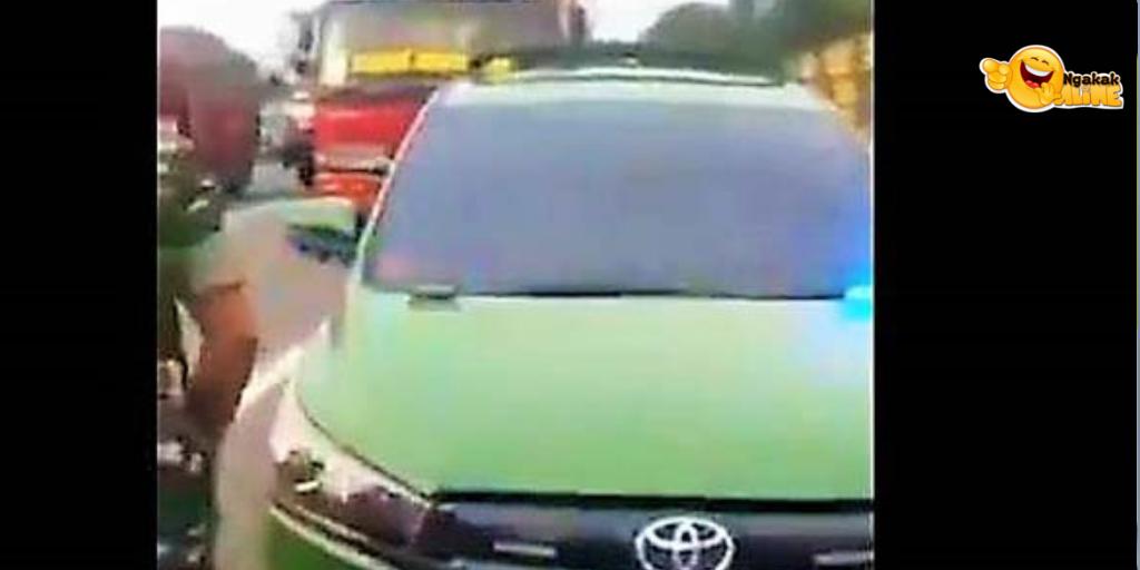 Viral Mobil Hijau Berpelat TNI Disetop di Tol, Ini Faktanya