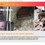 Viral Vas Bunga Berisi Uang Rp 10 Juta Setelah Dipecahkan