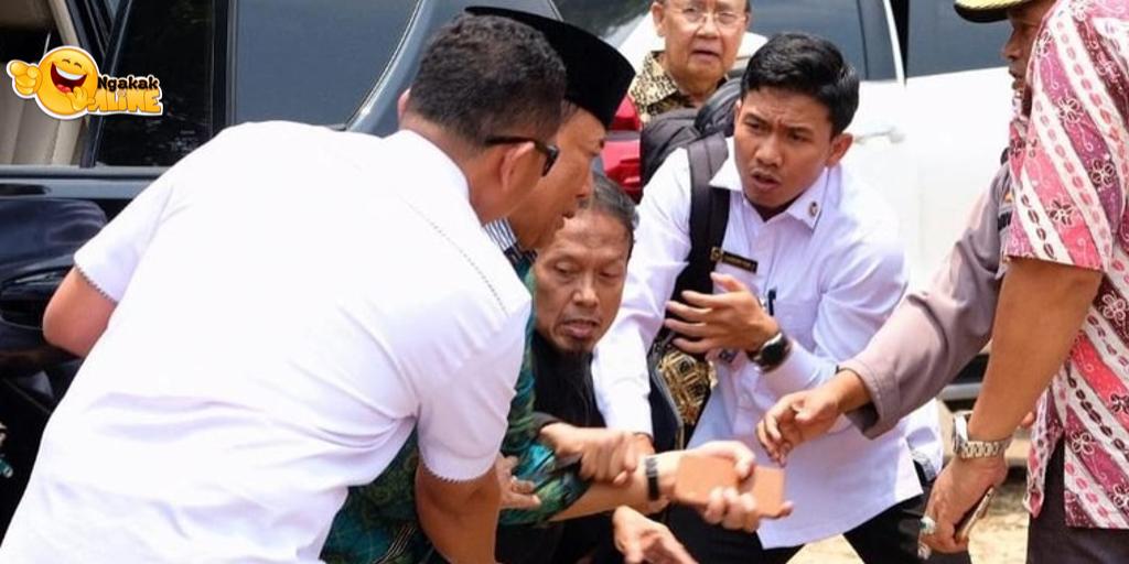 Penusukan Menkopolhukam Wiranto di Menes Pandeglang