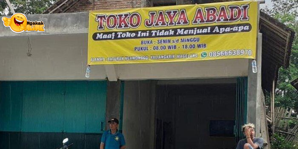 Viral Toko di Magelang Buka Selama 7 Hari Namun Tak Menjual Apapun