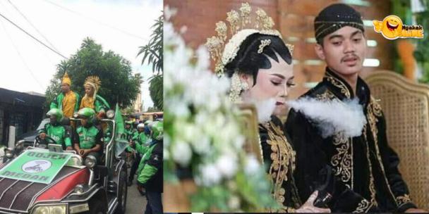 Momen Pernikahan absurd